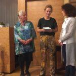 Korine van Veldhuijsen met Ruth Cooiman en Ineke Koedam